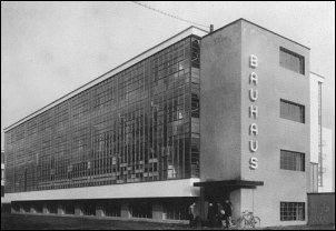 Bauhaus gebouw