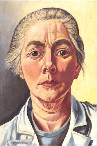 Charley Toorop zelfportret