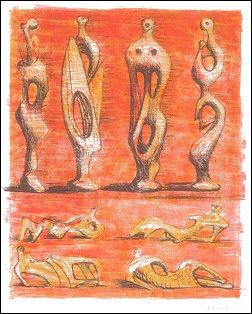Grafiek van Henry Moore