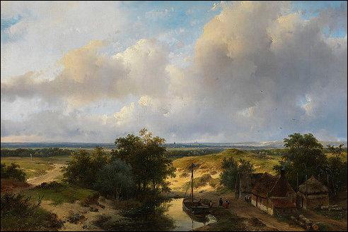Uitzicht op Haarlem