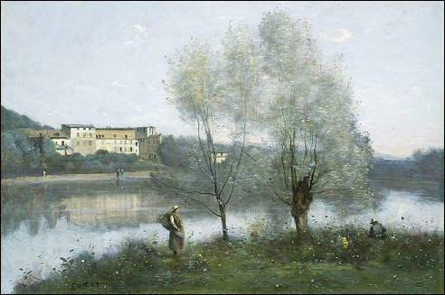Corot in Ville d'Avray
