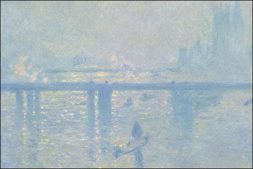 Monet bij Charing Cross Bridge