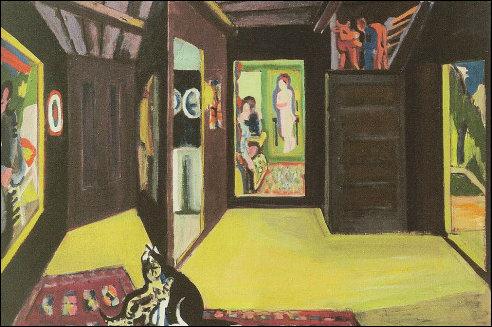 Bergatelier van Ernst Ludwig Kirchner
