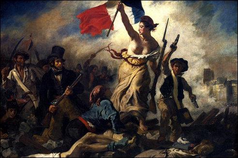 De Vrijheid leidt het volk
