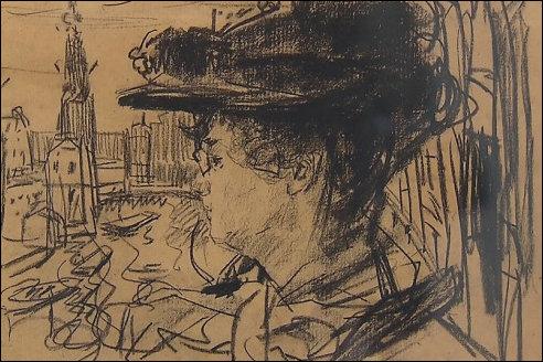 Thérèse Schwartze door Isaac Israëls