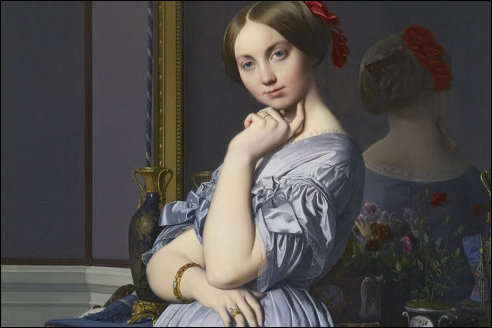 Louise de Broglie door Ingres
