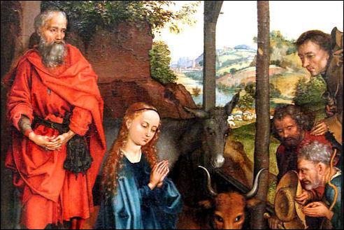 Kerststal van Schongauer