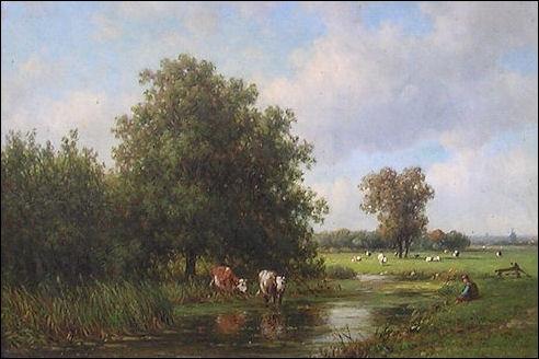Landschap bij Oosterhout