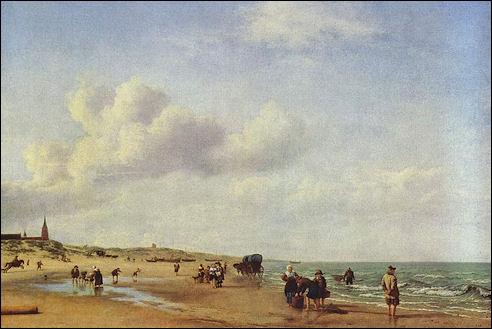 Het strand van Scheveningen