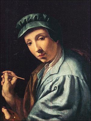Zelfportret Alessandro Allori