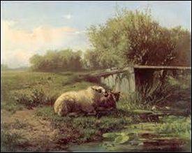 Gerard Bilders: landschap 1863