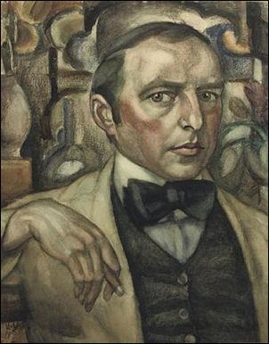 Leo Gestel Zelfportret