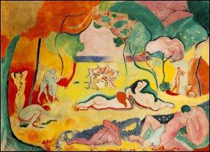 """Henri Matisse als inspiratie voor ons sinterklaas thema: """"diep in de zee"""""""