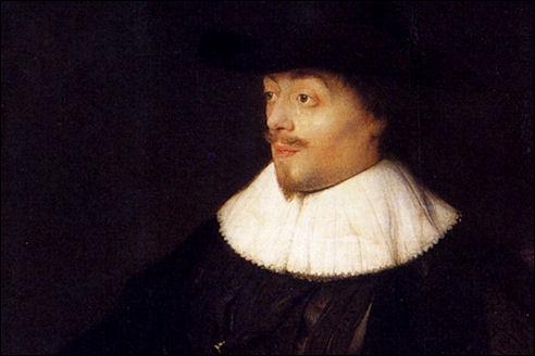 Jan Lievens: Portret van Constantijn Huygens