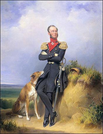 Jan Adam Kruseman: Portret koning Willem II
