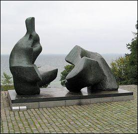 Liggende figuur Henry Moore