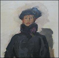 Mata Hari door Isaac Israëls, 1916