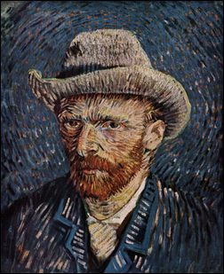 Vincent van Gogh zelfportret