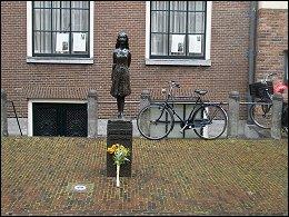 Anne Frank monumentje Amsterdam