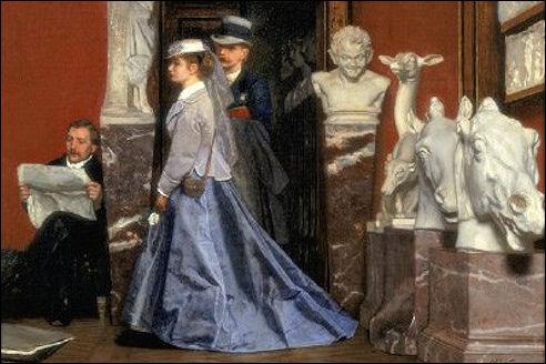 Museumbezoek van August Allebé