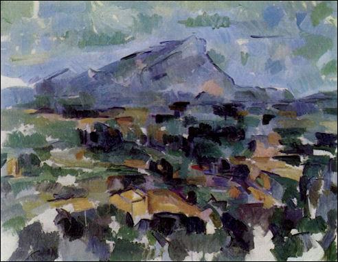 Cézanne: Montagne Sainte-Victoire