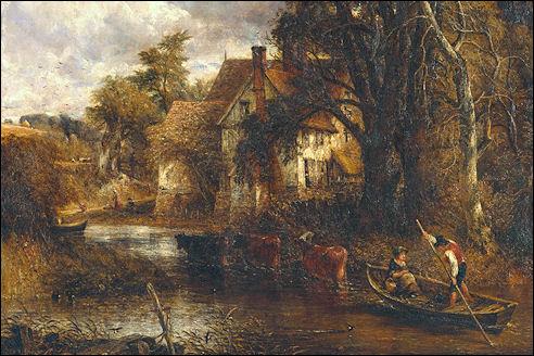 John Constable: The valley farm