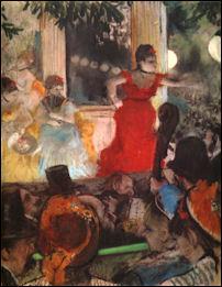 Edgar Degas: Concert in de Ambassadeurs
