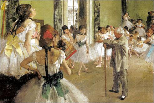 Edgar Degas: De balletklas