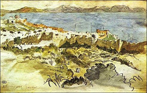 Eugène Delacroix: De bocht van Tanger