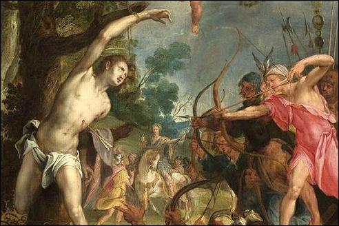 Hans von Aachen heilige Sebasitaan