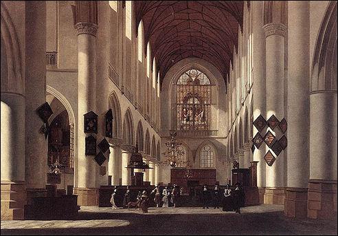 Berckheyde in Sint Bavo in Haarlem