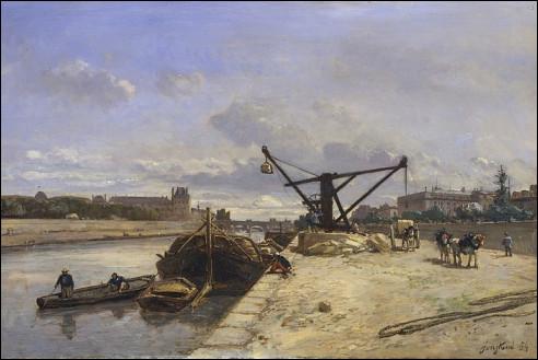 Johan Barthold Jongkind: Quai d'Orsay