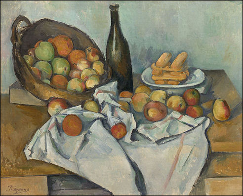 Stilleven van Paul Cézanne