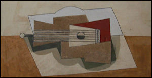 Pablo Picasso Gitaar 1919