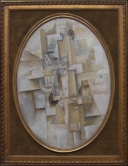 Pablo Picasso viool 1911-1912