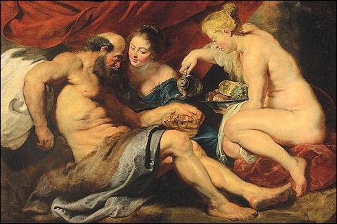 Peter Paul Rubens: Lot en zijn dochters
