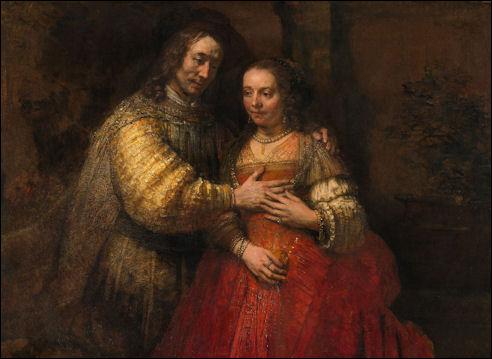 De Joodse bruid van Rembrandt