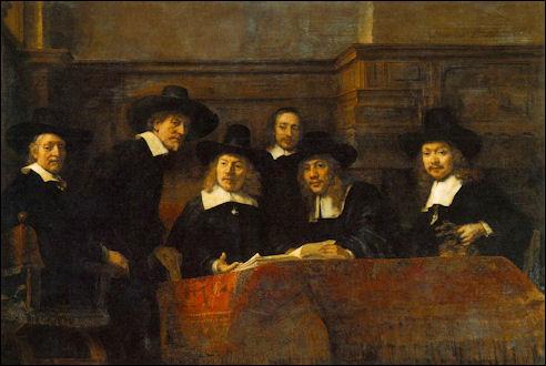 De staalmeesters van Rembrandt