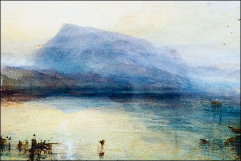 J.M.W. Turner: The Blue Rigi, Sunrise