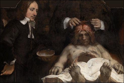 Rembrandt, Anatomische les van Dr. Deijman