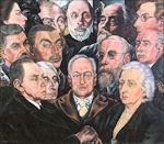 Charley Toorop: Portretgroep van H.P. Bremmer