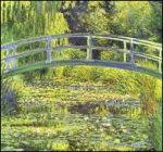 Claude Monet: Brug met watertuin