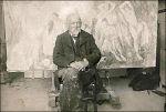 Paul Cézanne in Les Lauves