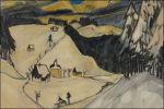 Sneeuw bij Erich Heckel