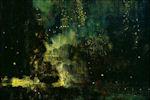 Nocturne in zwart en goud