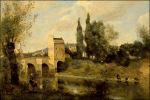 Jean-Baptiste Corot in Mantes-la-Jolie