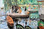 La Grenouillère door Renoir