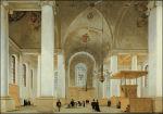Nieuwe Kerk door Pieter Saenredam