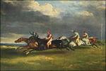 Géricault: Derby in Epsom