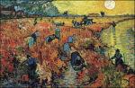De rode wijngaard van Vincent van Gogh